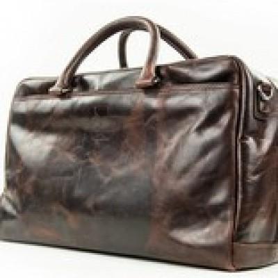 Foto van Old School Travel bag Arpello 6.1773 Brandy