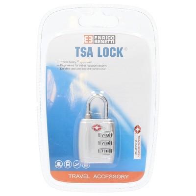 Foto van Cijfer TSA Slot metal Enrico Benetti 55022998 Zilver
