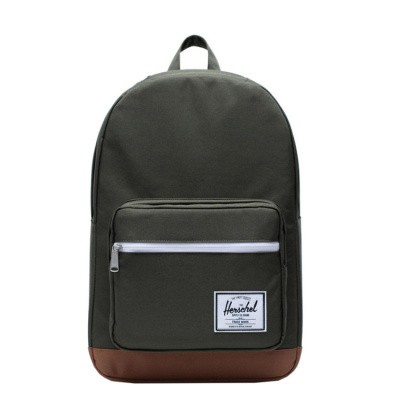 Foto van Rugtas Herschel Pop Quiz Dark Olive/Saddle Brown