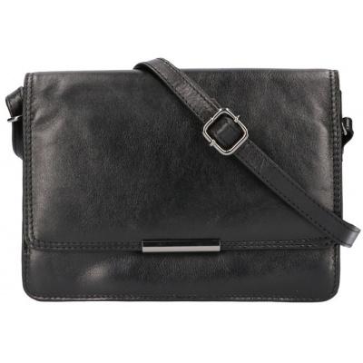Schoudertas Leather Design CC1342 Zwart