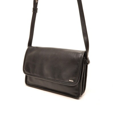 Foto van Berba Soft Flap Bag Small Black