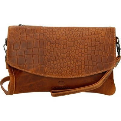 Clutch MicMacBags Everglades 16625 Cognac