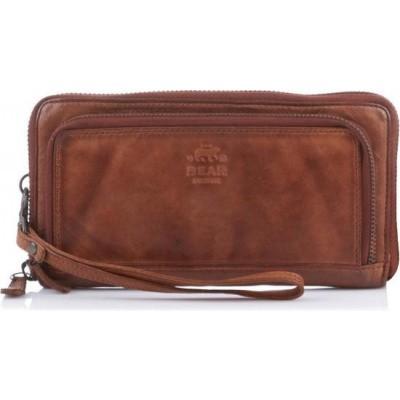 Portemonnee Bear Design CL-14851-Cognac