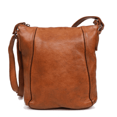 Schoudertas Bear Design Veerle CL 40479 Cognac