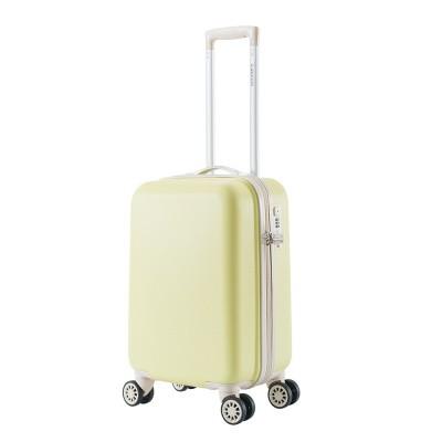 Foto van Handbagage Koffer Decent Star-Maxx Trolley 55 Pastel Yellow