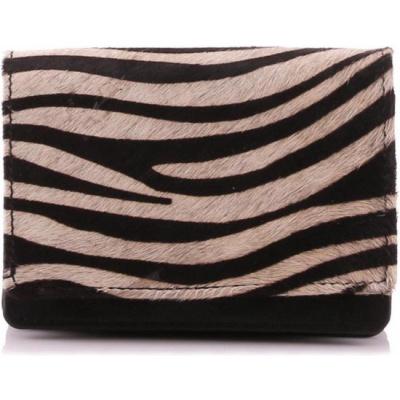 Portemonnee Bear Design HH 10628 Black Hair/ Zebra