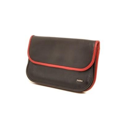 Berba Soft 001-165 Ladies Wallet Black-Red