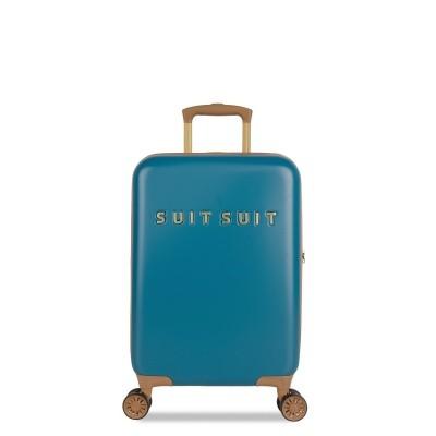 Foto van Koffer SuitSuit Fab Seventies 55 cm Handbagagekoffer Seaport Blue