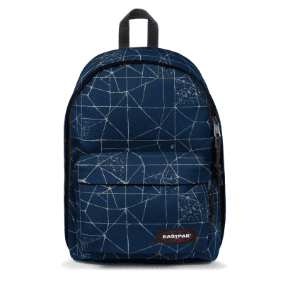 Eastpak OUT OF OFFICE Rugtas cracked blue