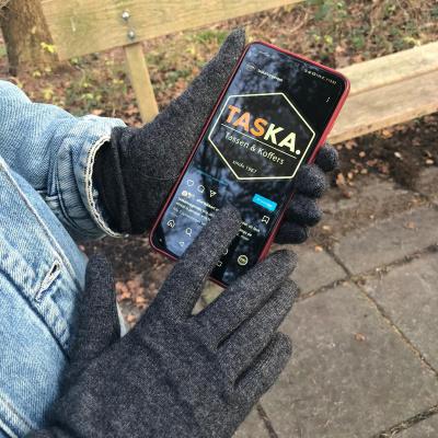 Foto van Glove Story handschoen grijs - one size