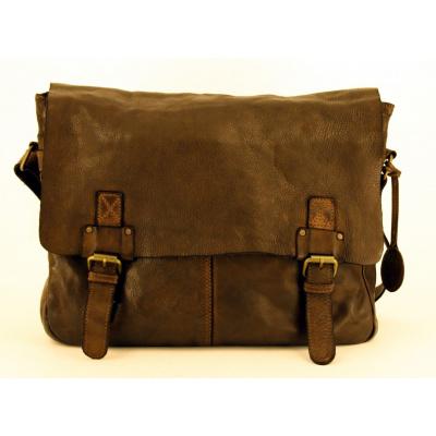 Harbour 2nd Yamal College Bag Leder bruin
