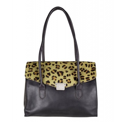 Foto van Hand/schoudertas Cowboysbag BAG BORIS X BOBBIE BODT Leopard