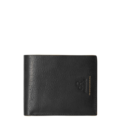 dR Amsterdam Icon Billfold Black 91524
