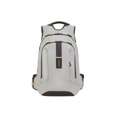 Foto van Samsonite Paradiver Light Laptop Backpack L+ grey/yellow