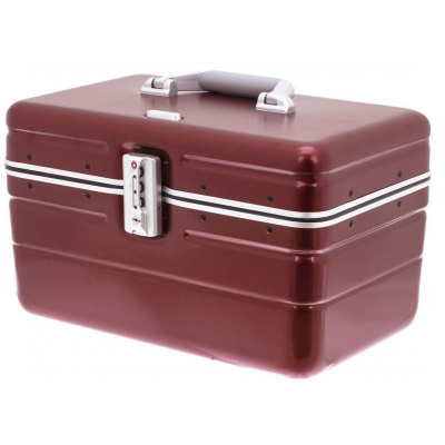 "Foto van Davids Beauty Case ""Betty"" V269134-14A Dark Red"