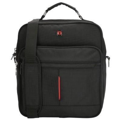 Enrico Benetti Cornell Flight Bag 14 inch Black