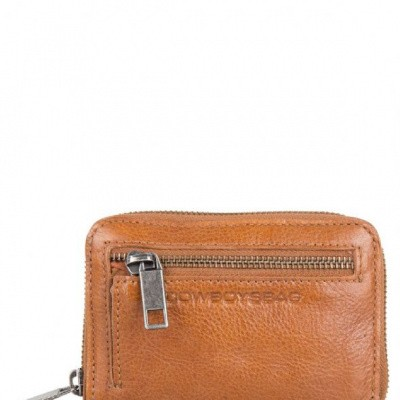 Portemonnee Cowboysbag WALLET FLORA Juicy Tan