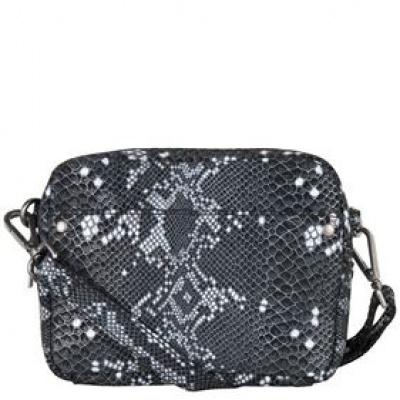 Cowboysbag x Bobbie Bodt Bobbie Bag 3057 snake black and white