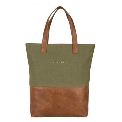 Foto van Shopper SuitSuit Fab Seventies Upright Bag Martini Olive