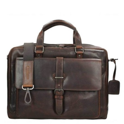 Foto van Laptoptas Leonhard Heyden Roma Tote Bag brown