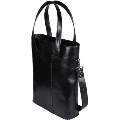 Hand/Schoudertas MY PAPER BAG Wrapped Office-hunter waxy black 2127