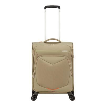 Foto van Handbagage American Tourister Summerfunk Spinner 55 Strict beige