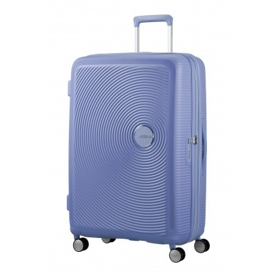 Foto van American tourister Soundbox SPINNER 55/20 Denim Blue
