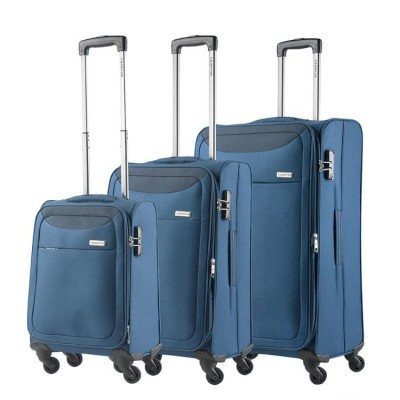 Foto van CarryOn Trolleyset 3pcs AIR Steel Blue