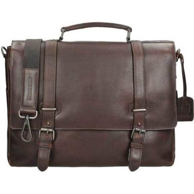 Leonhard Heyden Roma Briefcase 1 Compartment brown