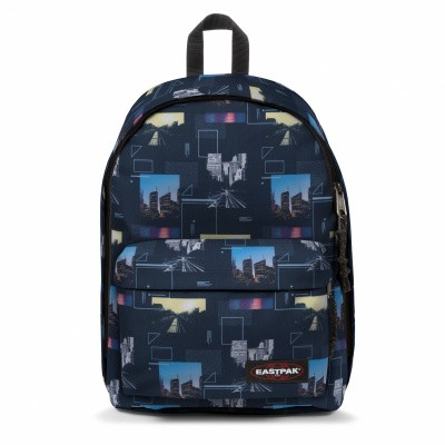 Foto van Rugtas Eastpak Out of Office Shapes Blue