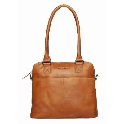 DSTRCT Wax Lane Handbag Cognac