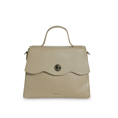 Foto van Hand/Schoudertas Myomy My Rose Bag 8657 Sand