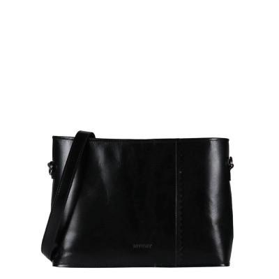 Schoudertas MY PAPER BAG Wrapped cross-body-hunter waxy black 2177