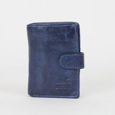 Portemonnee/Pasjeshouder Bear Design CL 527 Blauw