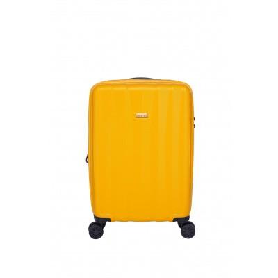 Foto van Handbagage Jump Tanoma PP Ultralight Trolley 55 Exp amber