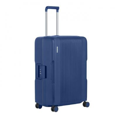Foto van Koffer CarryOn Protector 4 Wiel 66 CM Blue