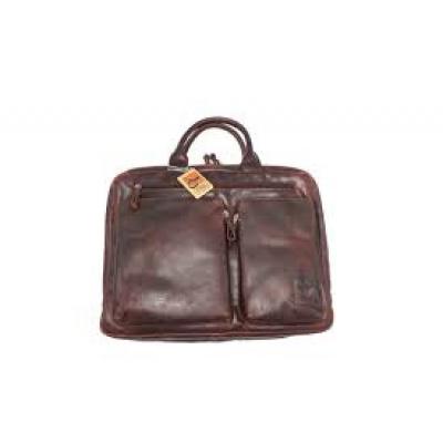 Old School Business bag Arpello 6.0362 Brandy