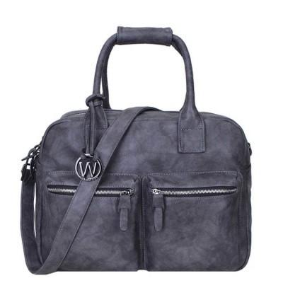 Schoudertas Wimona Bags Alessia-two Grey