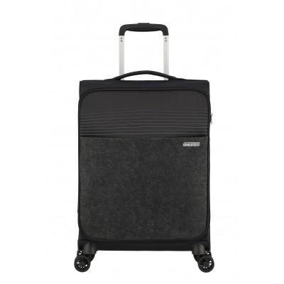 Handbagage American Tourister Lite Ray Spinner 55 Black