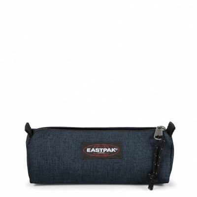 Foto van Pennen etui Eastpak Benchmark Single Triple Denim