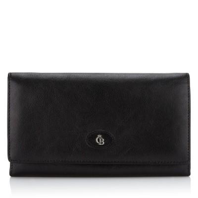 Foto van Castelijn & Beerens, 42 2402 Dames portemonnee beugel Zwart