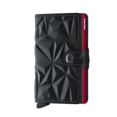 Foto van Miniwallet Secrid Prism Black-Red