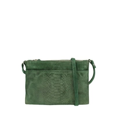 Foto van DSTRCT Portland Road Crossbody Zippers Green