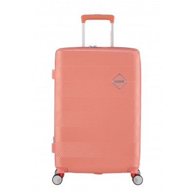 Foto van American Tourister Flylife Spinner 67/24 TSA EXP Coral Pink