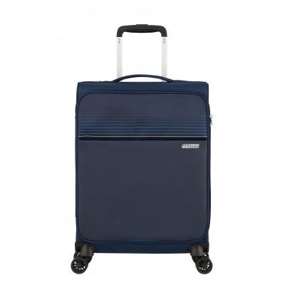 Handbagage American Tourister Lite Ray Spinner 55 Midnight Navy