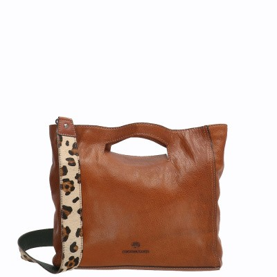 Foto van Handtas Micmacbags Wildlife Brown
