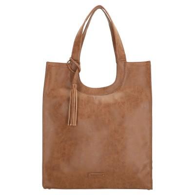 Shopper Enrico Benetti 66451-010 Camel