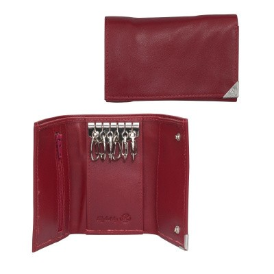 dR Amsterdam Sleutel-etui Red