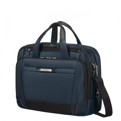 Samsonite Pro-DLX 5 Laptop Bailhandle 15.6'' Expandable Blue