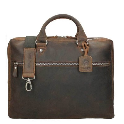 Leonhard Heyden Salisbury Tote Bag brown